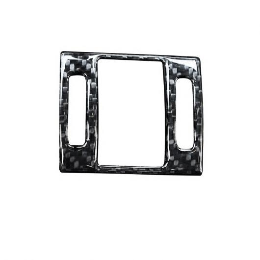 AL ドア ボウル フレーム カバー カーボンファイバー ステッカー ワーニング ボタン トリム 適用: アウディ A6 C7 2012-18 ワーニング AL-EE-4591