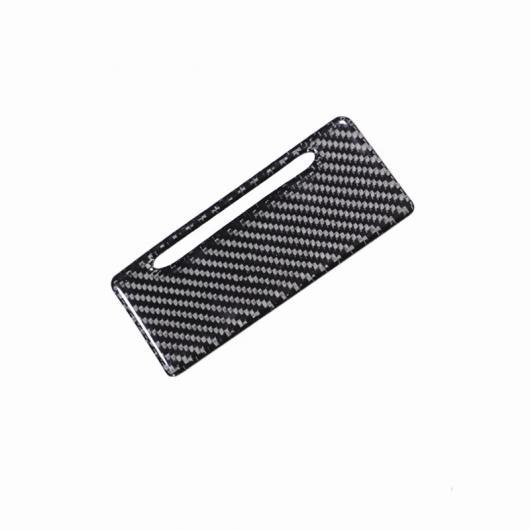 AL カーボンファイバー センター アームレスト リア エア 吹き出し口 装飾 フレーム カバー 灰皿 パネル ステッカー 適用: アウディ A4 B9 2017-19 灰皿 AL-EE-4617
