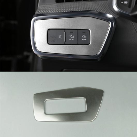 AL ハンドル ステアリング ホイール ダッシュボード 装飾 フレーム カバー トリム ステッカー 適用: アウディ A6 C8 2019 ヘッド ランプ フレーム AL-EE-4708