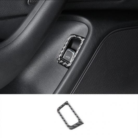 AL コンソール ギアシフト カーボンファイバー ステッカー トリム 適用: アウディ A7 A6 C7 RHD CD パネル フレーム カバー LHD トランク ボタン AL-EE-5045