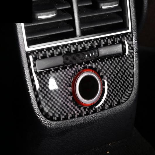 AL カーボンファイバー シガーソケット パネル トリム 適用: アウディ A3 8V コンソール ナビゲーション ギア ストレージ ボックス 装飾 ステッカー ギア B・ギア A AL-EE-4532