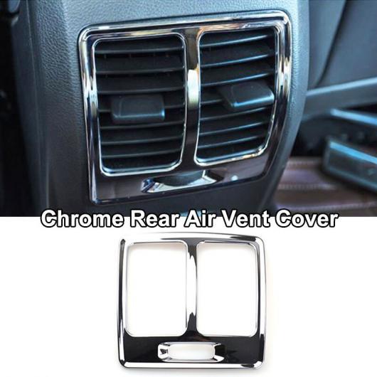 AL 適用: フォード エスケープ クーガ 2017-2018 クローム インテリア パネル AC カバー トリム 装飾 リアエア吹き出し口カバー AL-EE-5592