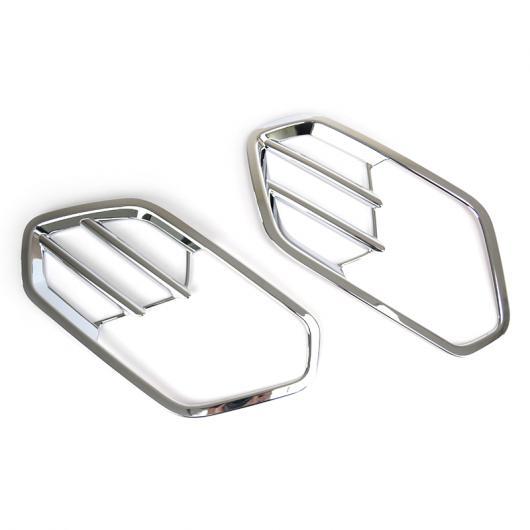 AL 適用: フォード エスケープ クーガ 2 MK2 2017-2019 クローム フロント ヘッド フォグライト フォグライト ランプ カバー トリム バンパー ガード 装飾 AL-EE-5583