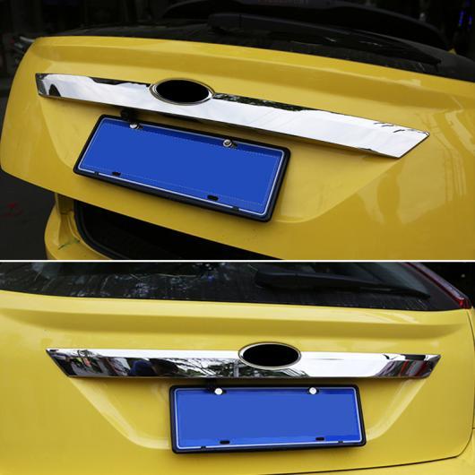 AL 適用: フォード フォーカス MK2 ハッチ ユーロ 2009-2011 クローム リア トランク テールゲート ドア メンバー カバー トリム 装飾 AL-EE-5597