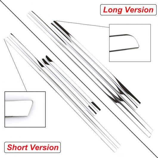 AL 適用: 日産 キャシュカイ/ホンダ HR-V/トヨタ ハイランダー/MAZADA CX-5 クローム ボディ カバー トリム ユニバーサル ステンレス鋼 ストリップ スタイリング ショートバージョン・ロングバージョン AL-EE-5804