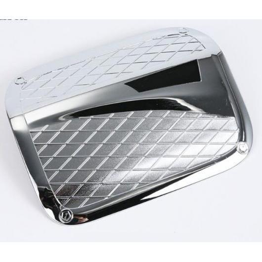 AL ABS クローム エクステリア オイル フューエル タンク ガス ヘッド カバー トリム ステッカー 適用: トヨタ カムリ 2018 2019 クロム AL-EE-6366