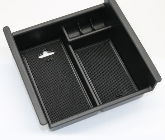 AL アームレスト ボックス ストレージ オーガナイザー ケース ABS 収納 トランク 適用: トヨタ フォーランナー 2010-2018 AL-EE-5823