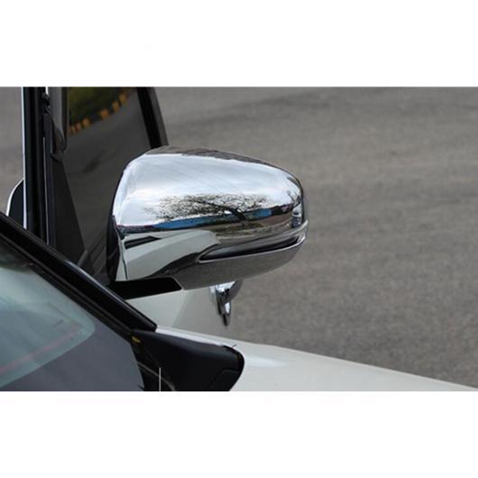 AL 適用: スズキ ビターラ 2016 2017 ABS 装飾 スティック リア ビュー バックミラー サイド ガラス ミラー カバー トリム フレーム 2ピース AL-EE-5838