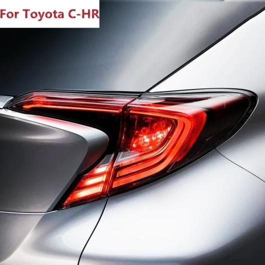 AL 適用: トヨタ C-HR CHR 2016 2017 オート エクステリア スタイリング ABS クローム リア テール ライト ランプ カバー 6ピース AL-EE-5875