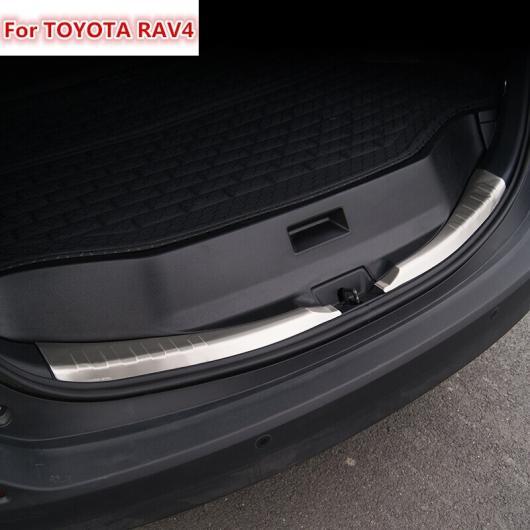 AL 適用: トヨタ RAV 4 RAV4 2013 2014 2015 2016 5ストリークバンパー ステンレス スチール リア バンパー プロテクター AL-EE-5891