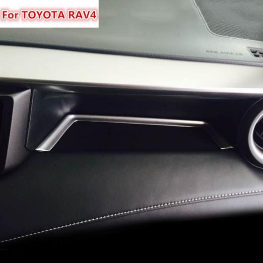 AL 適用: トヨタ RAV4 2016 ABS クローム マット インストルメント パネル ストレージ ボックス 装飾 ステッカー ボックス AL-EE-5908