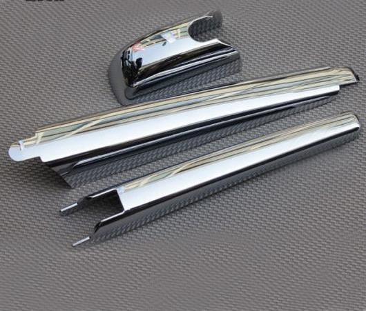 AL 適用: トヨタ ハイランダー 2008-2012 ABS クローム リア ウインドウ ワイパー カバー トリム 3ピース AL-EE-6001