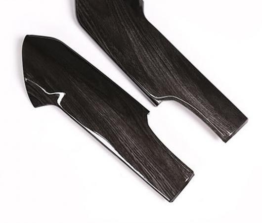 AL 適用: トヨタ ランドクルーザー プラド FJ150 FJ 150 150 2018 ブラック アッシュ 木目 ABS センター コンソール 装飾 パネル カバー トリム AL-EE-6043