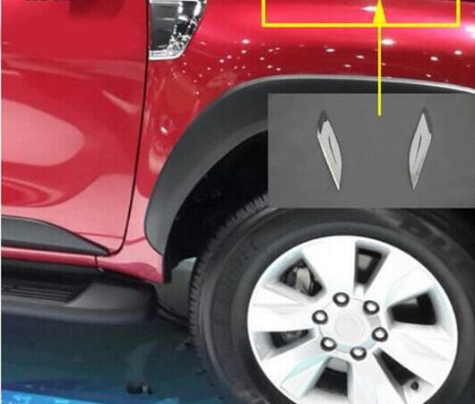 AL 適用: ハイラックス レボ ABS クローム サイド 吹き出し口 トリム トヨタ ハイラックス レボ 2015-2017 トヨタ ハイラックス パーツ レボ AL-EE-6061