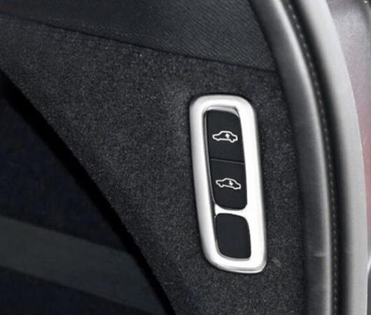 AL 適用: ボルボ XC90 XC 90 2015 2016 2017 2018 ABS マット インテリア ボディ リフト アジャスター ボタン カバー トリム 1ピース AL-EE-6105