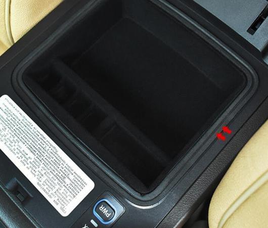 AL 2003-2019 セントラル アームレスト コンソール オーガナイザー ストレージ ボックス パイルコーティング 適用: トヨタ ランドクルーザー プラド FJ120 FJ150 AL-EE-6194