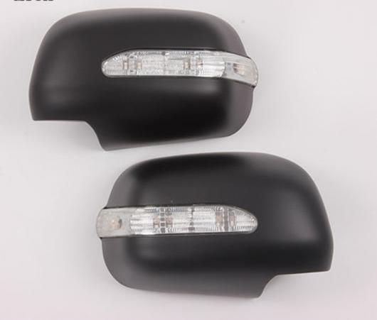 AL 2005-2014 サイド ミラー カバー ABS リア ビュー ミラー カバー インジケーター 適用: トヨタ ハイラックス ヴィーゴ ミラー カバー パーツ ブラック・クロム AL-EE-6197