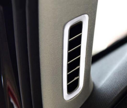 AL 2015-2018 適用: ボルボ XC90 S90 V90 エアコン 吹き出し口 フレーム カバー 装飾 トリム ステッカー AL-EE-6240