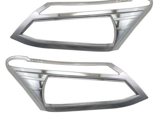 AL ABS クローム ストリップ 適用: イスズ D-MAX ヘッドランプ カバー トリム D-MAX 2012 2013 2014 2015 ヘッドライト AL-EE-6377