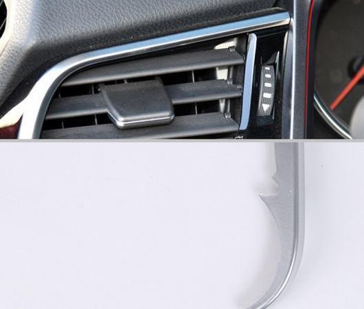 AL ABS クローム フロント エア 吹き出し口 フレーム カバー トリム 装飾 適用: トヨタ カムリ 2018 2019 左 サイド ダッシュボード AL-EE-6391
