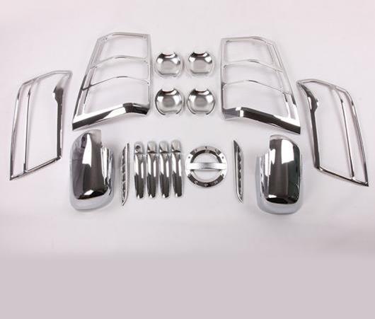 AL クローム 適用: スズキ グランド ビターラ 2005 2006 2008-2012 ミラー ヘッドライト ドア ハンドル ボディ 保護 21ピース AL-EE-6538