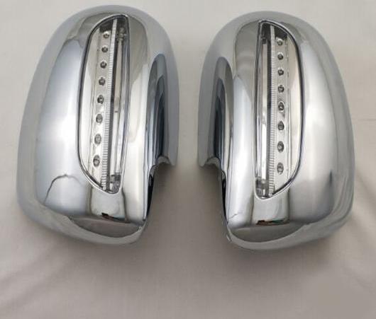 AL クローム メッキ バックミラー ミラー カバー LED 適用: トヨタ カローラ 2008-2013 ヤリス 2008-2013 プリウス 2008-2011 ヴィオス 2008-2013 AL-EE-6543