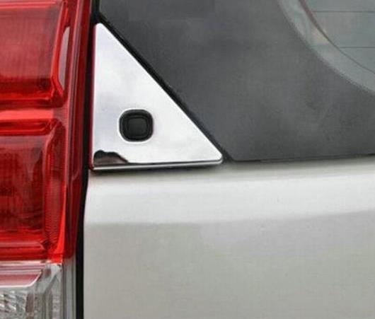 AL クローム リア ウインドウ トライアングル カバー トリム 適用: トヨタ ランドクルーザー プラド FJ150 FJ 150 2010 2011 2012 2013 AL-EE-6589