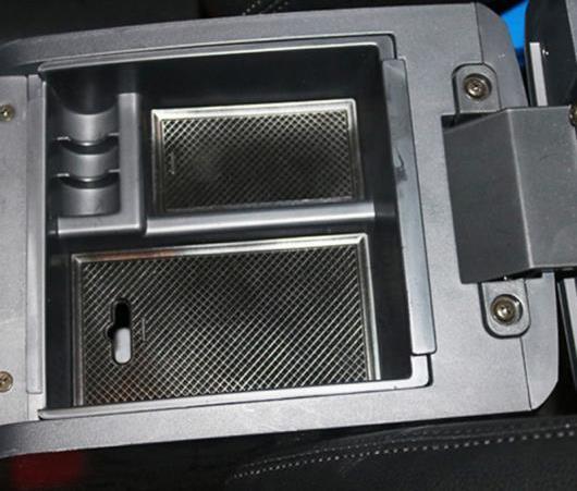AL センター コンソール アームレスト ストレージ ボックス オーガナイザー トレイ 2012-2018 適用: イスズ D-MAX D MAX MU X D-MAX タイプ001・タイプ002 AL-EE-6619