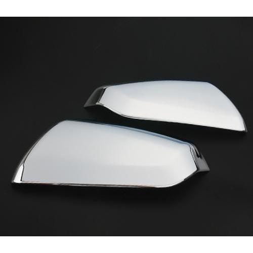 AL 適用: シボレー エクイノックス 2017 2018 2019 リアビュー ミラー カバー シェル バックミラー エッジ ガード エクステリア 装飾 シルバー AL-EE-6758