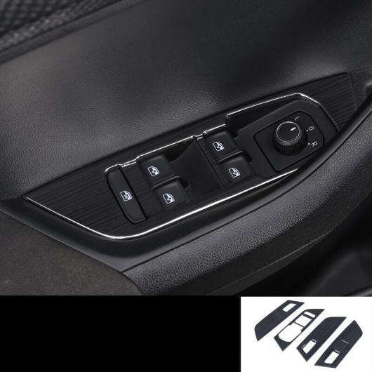 AL 適用: シュコダ カロック 2018 2019 ブラック フル トリム ステッカー カバー ステンレス スチール スタイル 7 AL-EE-6828
