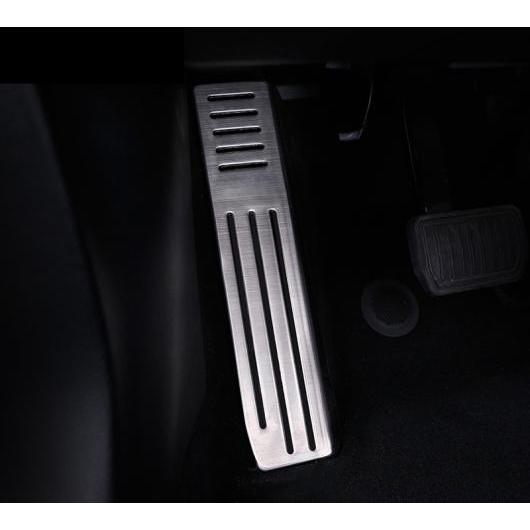 AL 適用: テスラ モデル X 2014-2018 カバー アルミ 合金 フット ガス/ガソリン/オイル ブレーキ レスト ランプ トリム ペダル アクセサリー 1ピース AL-EE-6870