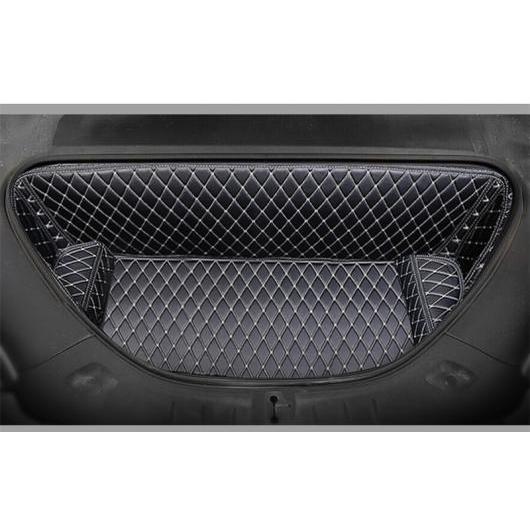 AL 適用: テスラ モデル S 2014-18 すべて フロント ボックス マット トランク 防水 カーペット 装飾 スタイル 3 AL-EE-6884