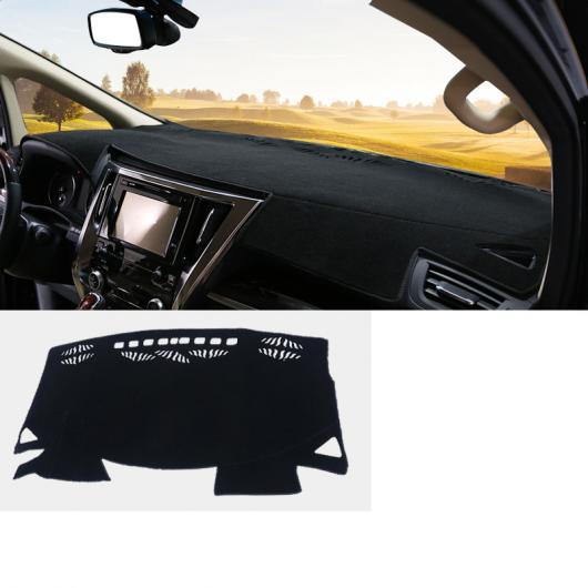 AL 適用: トヨタ アルファード 2015-2018 ダッシュボード カバー マット パッド サン シェード ライト ダッシュ ボード カーペット プロテクター 装飾 ブラック AL-EE-6955