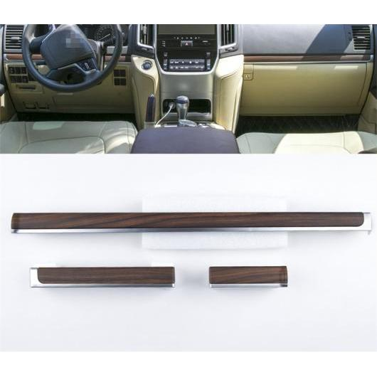 AL 適用: トヨタ ランドクルーザー LC200 2008-2018 木目調 色 ライン スリーブ ギア パネル トリミング インストルメント 装飾 木目調 AL-EE-7000