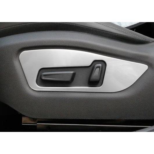AL 適用: ヒュンダイ IX35 2018 2019 シート アジャスター ボタン 装飾 スパンコール フレーム トリム インテリア アクセサリー シルバー AL-EE-7016