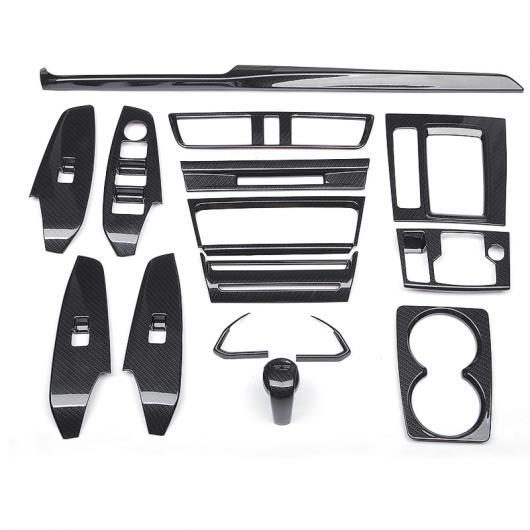 AL 適用: MAZDA3 マツダ 3 アクセラ 2014-2017 カーボンファイバー ダッシュ カバー ギア パネル トリム キット フル セット 装飾 スタイル 4~スタイル 8 AL-EE-6723