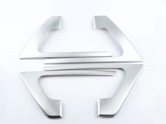 AL 適用: トヨタ ランドクルーザー LC200 2016-2018 ドア アームレスト カバー トリム ストリップ ステッカー クローム スタイル 3・スタイル 5 AL-EE-7003