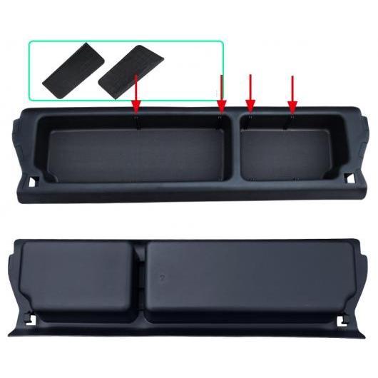 AL 適用: ホンダ フィット ジャズ 2016-2018 タンク トランク パレット ストレージ ボックス ケース インテリア 装飾 アクセサリー ブラック AL-EE-7099