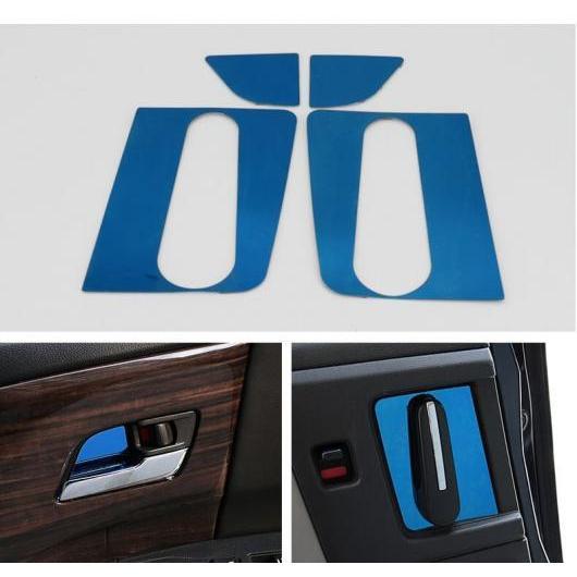 AL 適用: ホンダ オデッセイ 2015-18 オート カバー ABS マット シルバー ドア カップ ボウル ヘッド トリム 装飾 ブルー AL-EE-7163