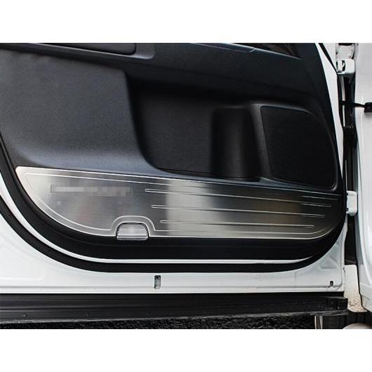 AL 適用: ホンダ オデッセイ 2015-2018 プロテクター サイド エッジ 保護 アンチキック ドア マット カバー ケース 装飾 シルバー AL-EE-7179