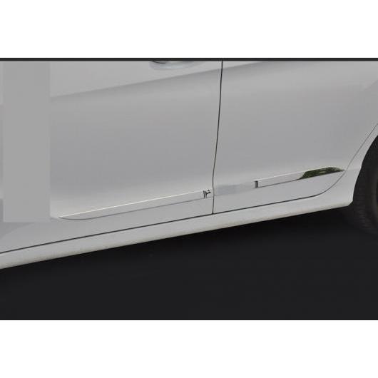 AL 適用: ホンダ シティ 2014-2018 クローム ABS ドア サイド ライン ガーニッシュ ボディ カバー プロテクター トリム 装飾 シルバー AL-EE-7210