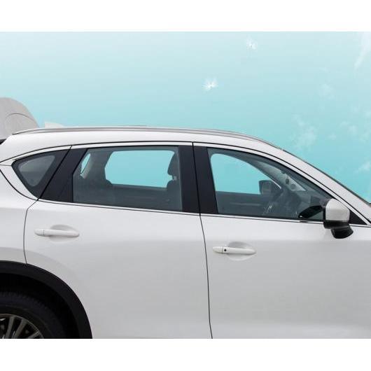 AL 適用: マツダ CX-5 CX5 CX 5 2017-2019 ステンレス スチール ストリップ ウインドウ トリム 装飾 アクセサリー フレーム 6ピースセット AL-EE-7275