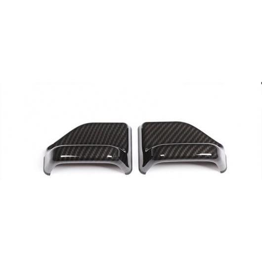 AL 適用: メルセデス ベンツ E クラス W213 E200 E300 E320 2016-2018 シート セーフティー ベルト ヘッド カバー メンバー トリム カーボンファイバー AL-EE-7290