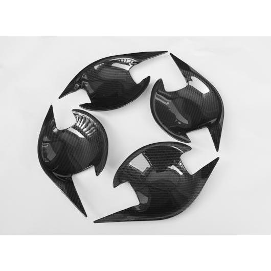 AL 適用: 三菱 ASX 2013-2018 インナー ドア ハンドル カバー ボウル フレーム トリム ステッカー ブレイド ドア ボウル ブラック AL-EE-7316