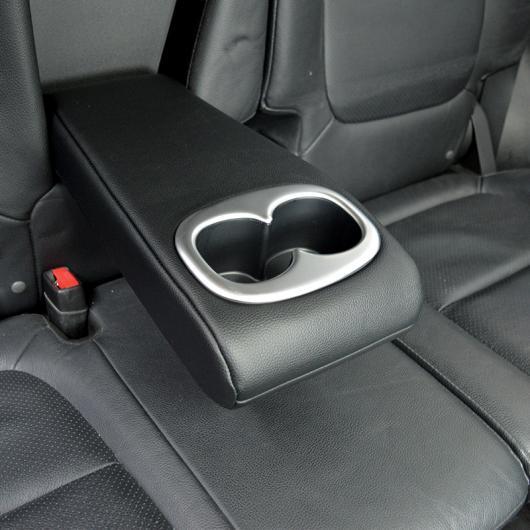 AL 適用: 三菱 アウトランダー 2013-2017 装飾 ABS クローム バック センター コンソール ドリンクホルダー フレーム ギア ボックス シルバー AL-EE-7353