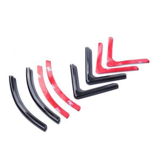 AL 適用: ホンダ フィット ジャズ 2014-2018 ドア ガード プレート コーナー バンパー バッファ トリミング 形成 保護 パッド 装飾 ブラック・ホワイト AL-EE-7086