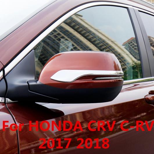 AL 適用: ホンダ CRV C-RV 2017 2018 バックミラー ミラー カバー スパンコール 装飾 ステッカー シルバー スタイル 1・シルバー スタイル 2 AL-EE-7131