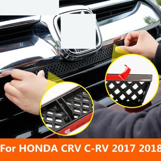 AL 適用: ホンダ CRV C-RV 2017-18 3 色 バンパー 給気口 グリッド トリム フロント ストリップ センター レーシング カバー 装飾 スタイル 1~スタイル 3 AL-EE-7155