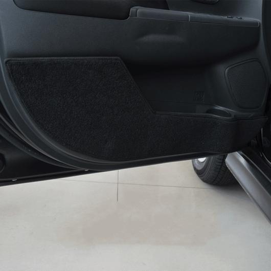 AL 適用: 三菱 ASX 2013-18 プロテクター サイド エッジ 保護 アンチキック ドア マット カバー ケース 装飾 ブラック・レッド AL-EE-7306