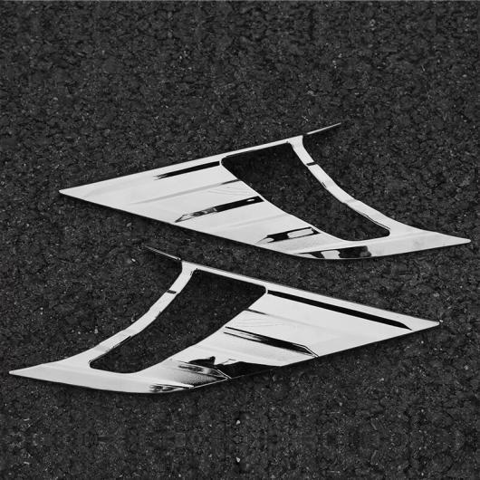 AL 適用: 日産 キャシュカイ デュアリス J11 2014-2017 ヘッドライト アイブロー アイリッド フロント ヘッドランプ ABS クローム シルバー AL-EE-7383
